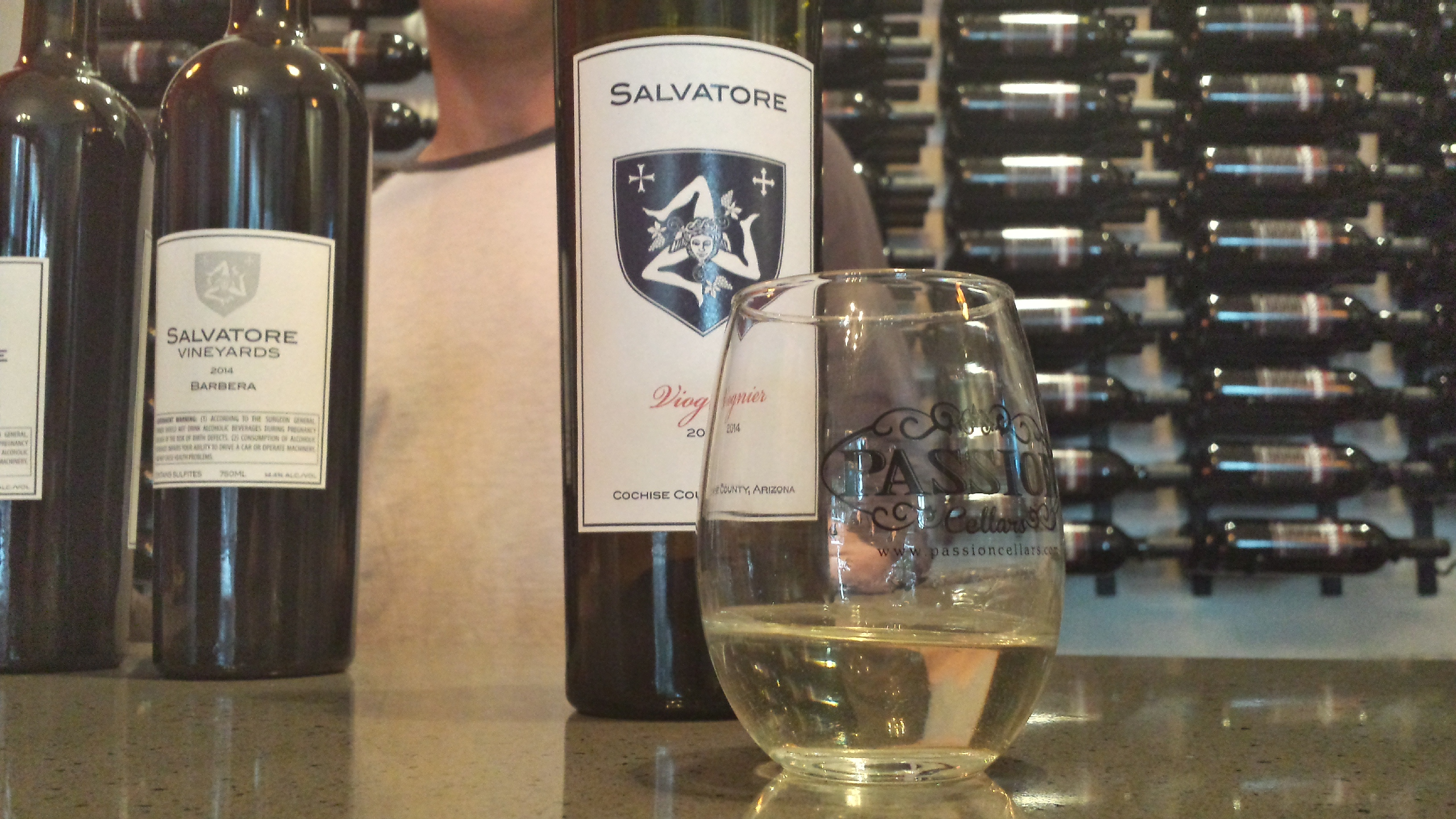 Salvatore Vineyards 2014 Viognier